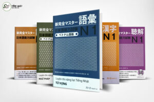 Combo 5 cuốn Shinkanzen master N1