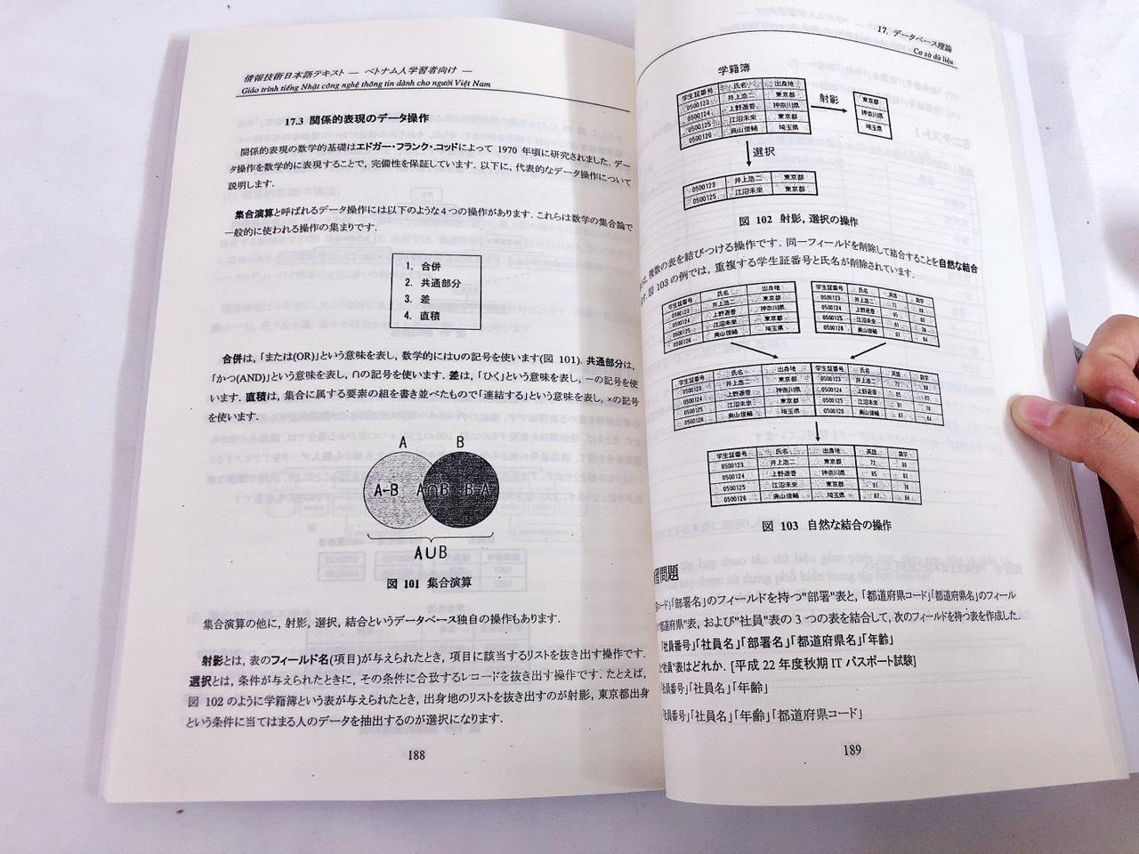 Giáo trình tiếng Nhật công nghệ thông tin cho người Việt