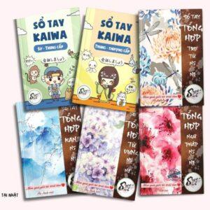 Combo 6 cuốn sổ tay tiếng Nhật