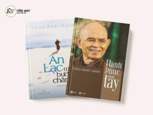 Combo sách của thầy Thích Nhất Hạnh: An lạc từng bước chân & Hạnh phúc cầm tay