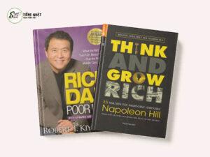 Combo sách dạy làm giàu hay: Cha giàu cha nghèo & 13 nguyên tắc nghĩ giàu làm giàu