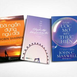 Combo sách truyền cảm hứng: Đời ngắn đừng ngủ dài & Trời Sinh Vụng Về, Hãy Bù Đắp Bằng Sự Kiên Trì & Dám Ước Mơ, Biết Thực Hiện