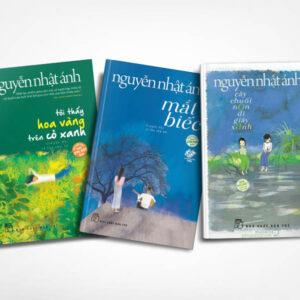 Combo Nguyễn Nhật Ánh (3 cuốn): Mắt biếc, Tôi thấy hoa vàng trên cỏ xanh, Cây chuối non đi giầy xanh