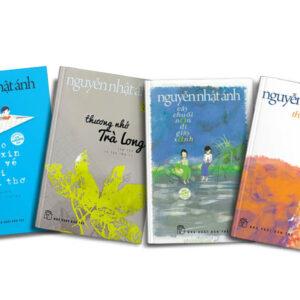 Combo Nguyễn Nhật Ánh (4 cuốn): Cho tôi xin một vé đi tuổi thơ & Cây chuối non đi giầy xanh & Thương nhớ Trà Long & Thiên Thần Nhỏ Của Tôi