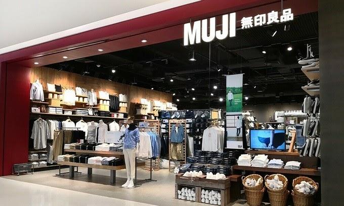 cửa hàng Muji