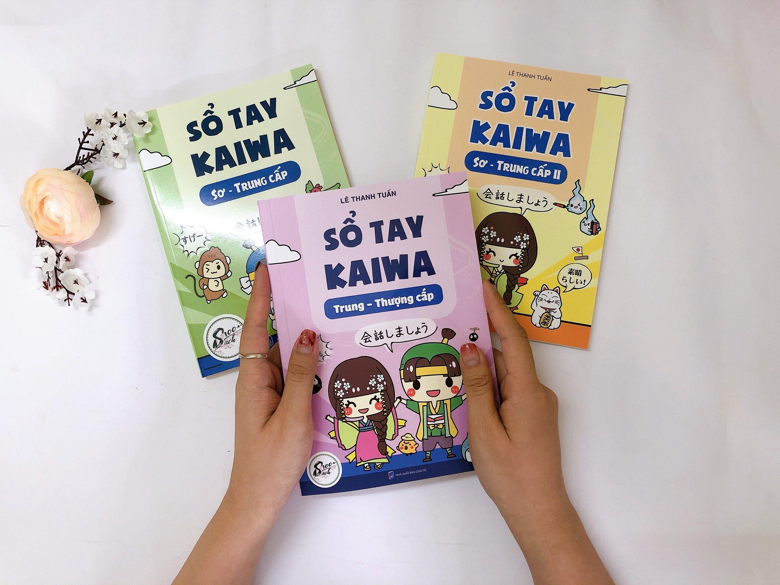 3 cuốn sổ tay kaiwa