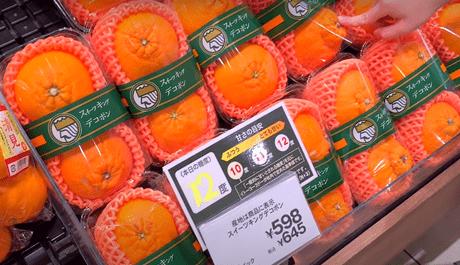 độ ngọt của hoa quả
